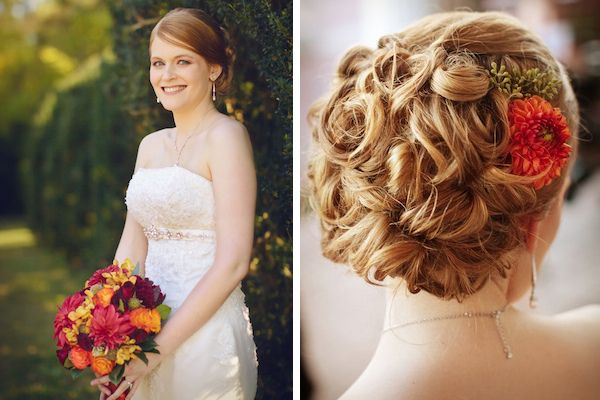 35 Wedding Updo Hairstyles For Long Hair From Ulyana Aster: 17 Best Ideas About Fall Wedding Hairstyles On Pinterest