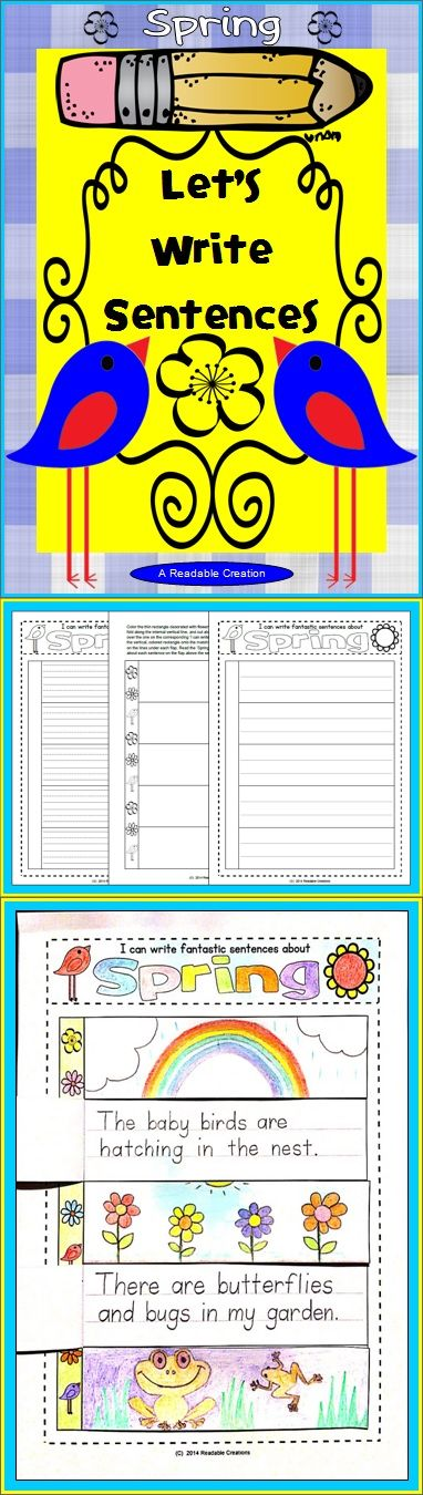 This Spring interactive writing pack includes a choice of 2x3 different writing pages (two line options for the 5-tab, 2-tab, and 1-tab pages), corresponding flaps, and a Spring vocabulary page. (K-6)