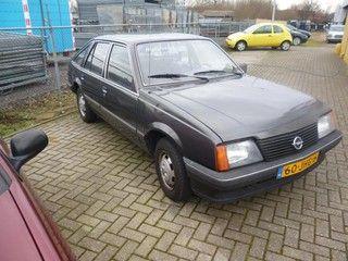 Opel ASCONA 1.6 ., oldtimer, bj 1984 op Nederland Mobiel