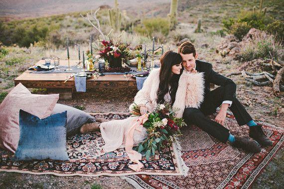 Bohemian Arizona desert wedding inspiration CamiTakesPhotos