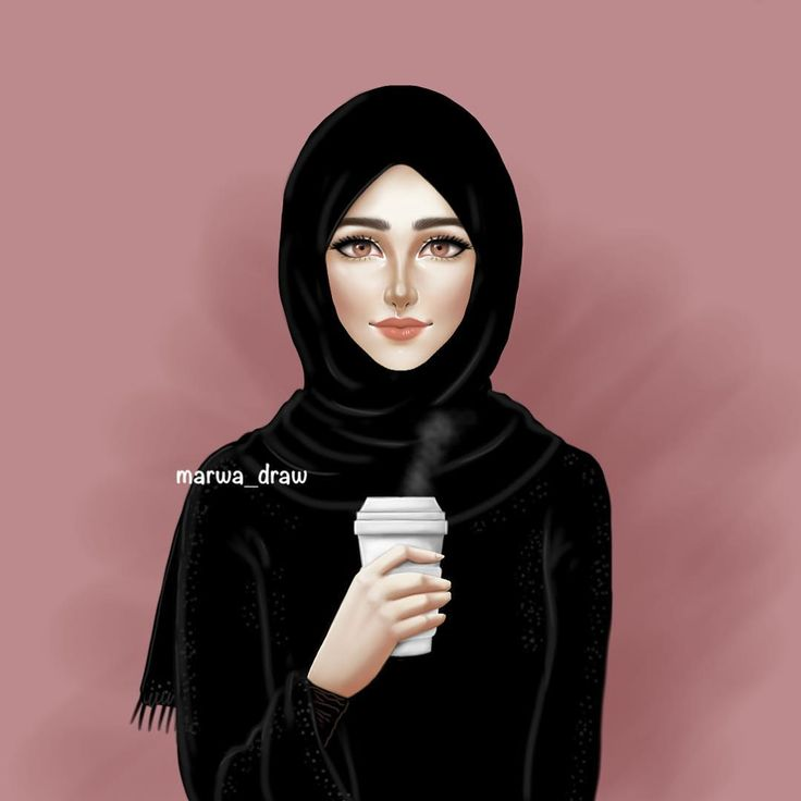 Pin oleh barbie stargirl di art di 2019 hijab drawing - Sketch anime wallpaper ...