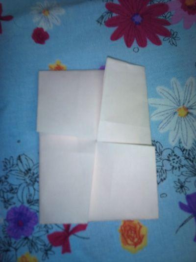 ハート 折り紙:手紙 折り方 長方形-divulgando.net
