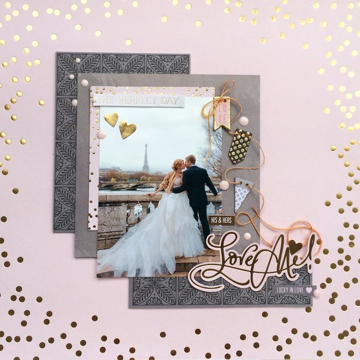 62 best Wedding Scrapbook Layouts and Projects images on ...