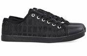Zwarte DKNY sneakers Blair gympen  #dkny #sneakers