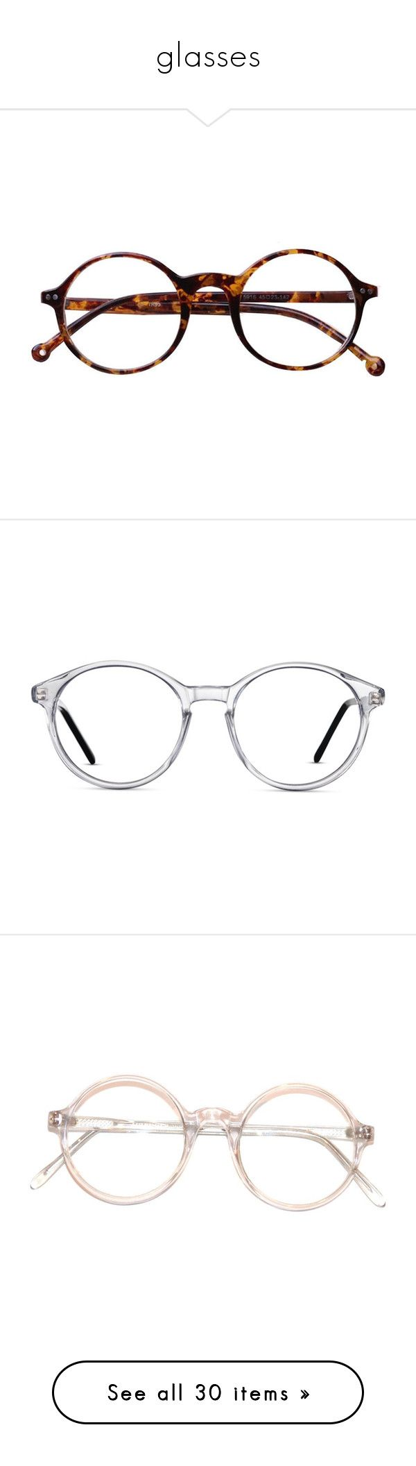 """glasses"" by taxicabs ❤ liked on Polyvore featuring accessories, eyewear, eyeglasses, glasses, sunglasses, fillers, retro eye glasses, leopard glasses, vintage round eyeglasses and round eye glasses"