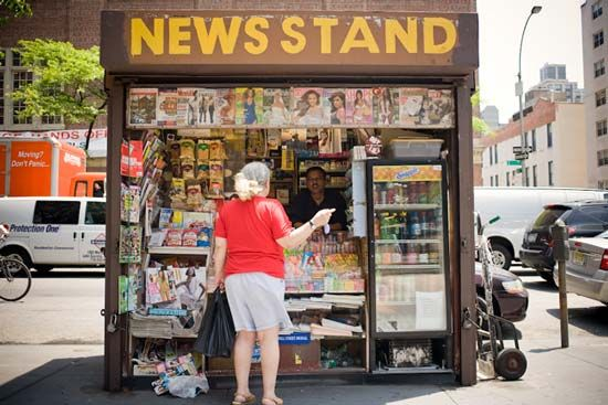 NYC Newsstand Project on Behance