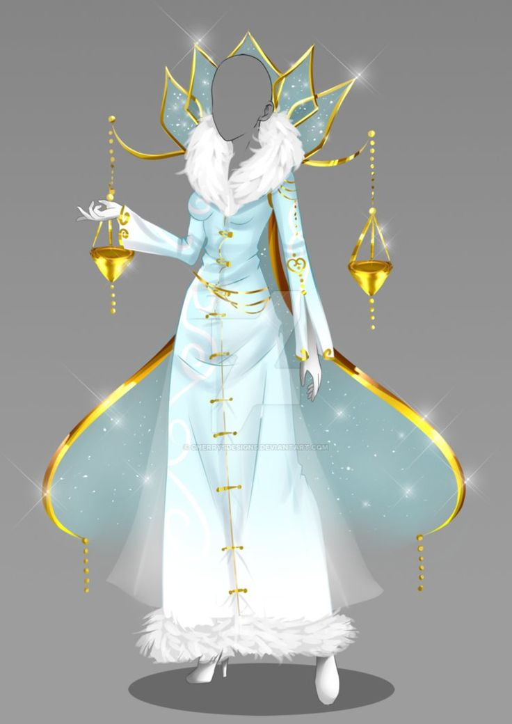 The Ice Queen gown