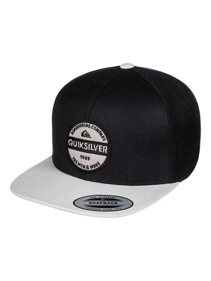 wholesale dealer 735a3 23d2a Quiksilver Snapback Cap »Firm Chowder« für 29,99€. Strukturiertes Snapback-Design  mit 6-Panelen, Bestickter Twill-Patch vorne bei OTTO
