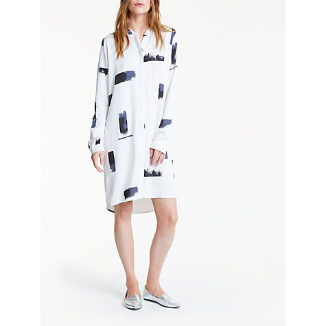 Buy Minimum Wini Dress, White Online at johnlewis.com