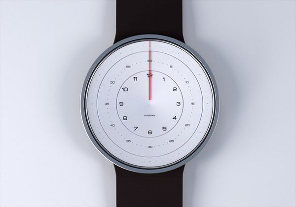 Radian Watch Concept by Kyle Dell'Aquila, via Behance