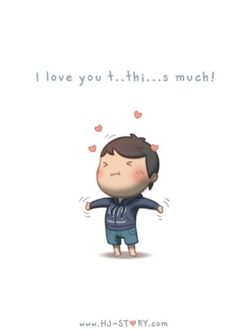 HJ-Story :: Love you th...isss much - image 1