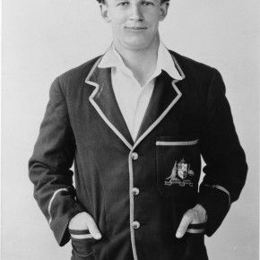 Bradman during his first tour of England in 1930.  Courtesy Bradman Museum Trust Collection Bowral.