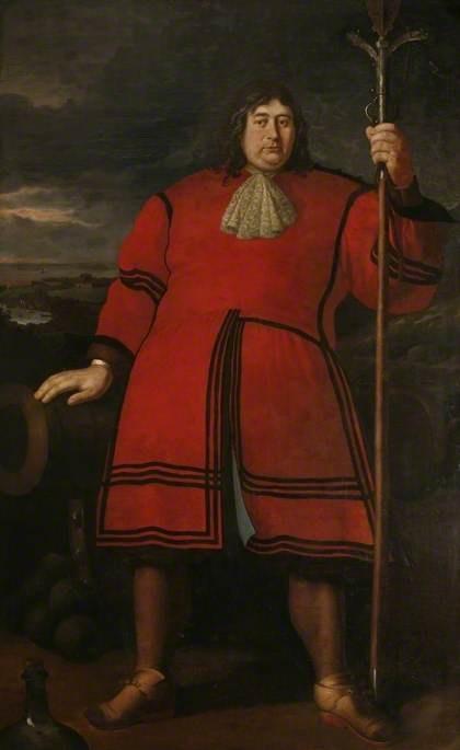 Anthony Payne, the Cornish Giant, Godfrey Kneller, 1680; Royal Institution of Cornwall TRURI : 1888.1