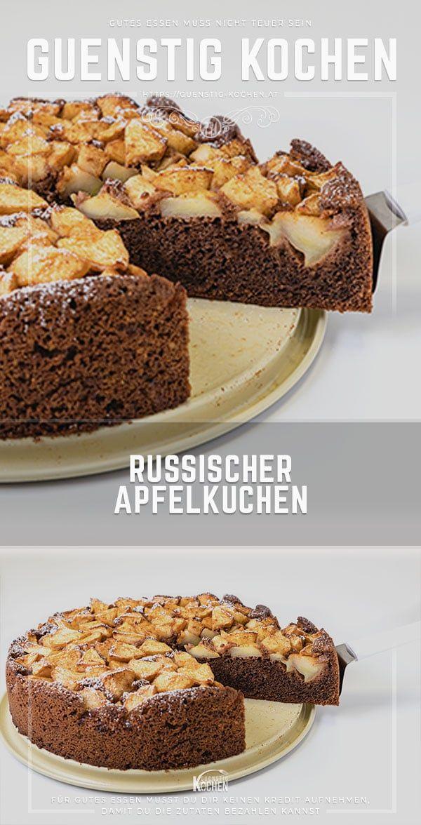 Das Rezept Für Den Russischen Apfelkuchen Schmeckt Eigentlich Verboten Gut  Und Wird Nicht Nur Dich Begeistern