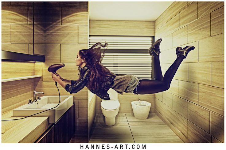 Bathroom Levitation by Hannes Höchsmann on 500px