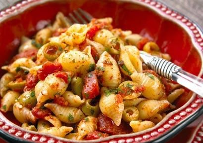 Spicy Olive Pasta and other healthy pasta recipes