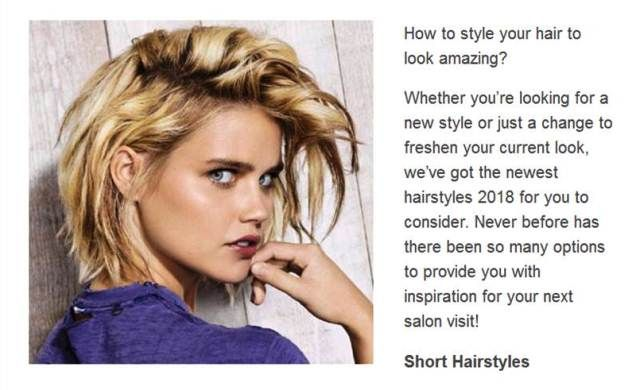 https://besthairstyles2018.com/ | Hairstyles 2018 - Ready to finally find your ideal hairstyle? Hairstyles 2018, Hair Trends of 2018 - Top Hairstyles & Haircuts for Women.We have the latest on how to get the haircut, hair color, and hairstyles you want for the season! Tips, ideas, photos and trends for your best choose.