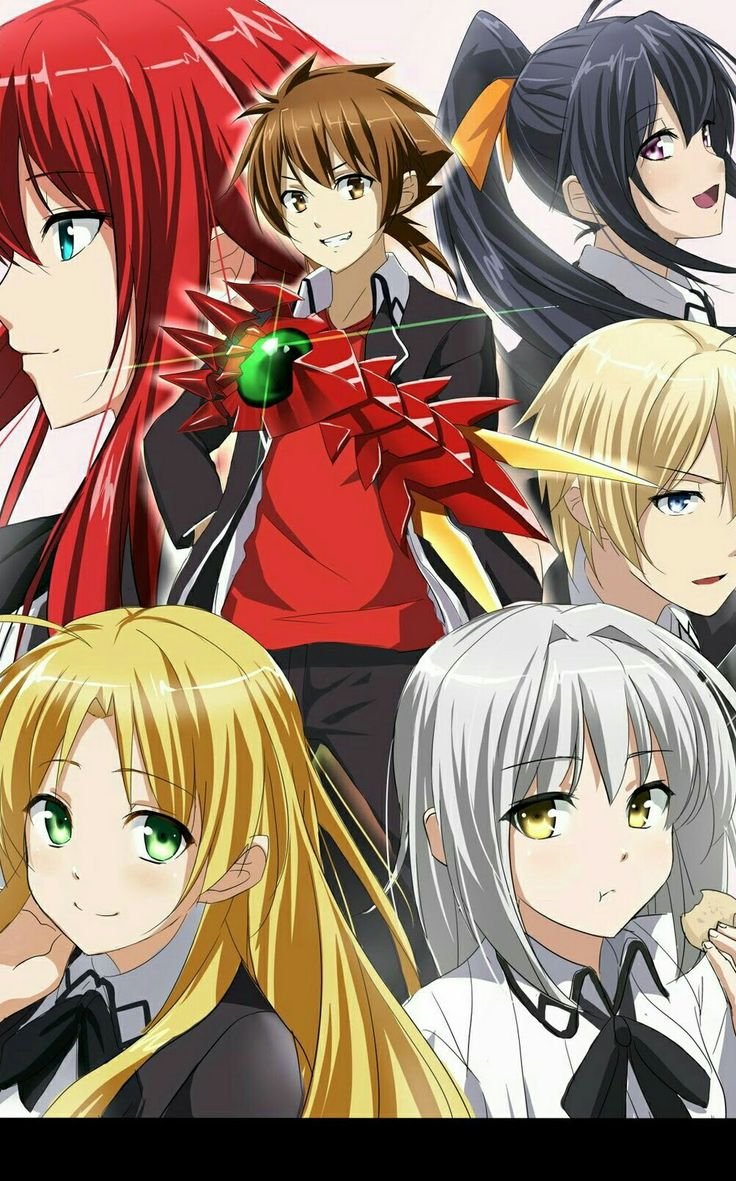 Pin by Wolf Hyoudou on Highschool DXD 3 Dxd, Highschool
