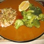 recipes lemon cream sauces pistachio crusted sauce low crusted salmon ...