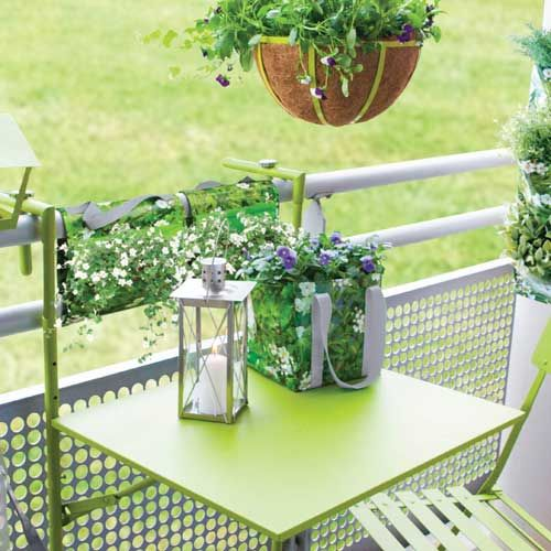 17 best ideas about table de balcon on pinterest table - Table suspendue balcon ...