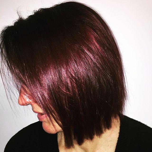 SLEEK & SHINY • love love love how shiny & healthy looking this colour… @toniandguyau @toniandguyperth #WellaProANZ #WellaHair #labelmau #Short #Feminine #BlowDry  #Balayage  #Wavy #Waves #Natural #Bob #StraightHair #Hair #PerthHair #Hairdressing #Perth #WolfeLane #Laneway #Style #Ladies #HairStyle #Fashion #InstaHair  #PerthSalon #upstyle #braids