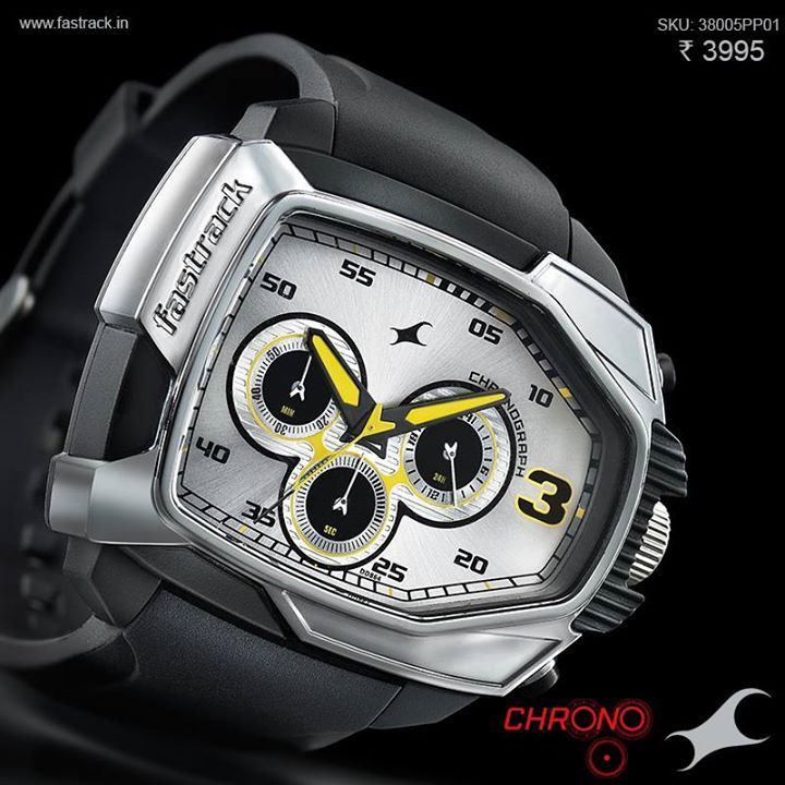 Make everyday a statement. #Chrono www.fastrack.in/chronograph/product/38005pp01