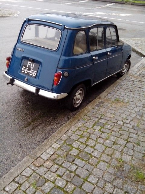 Renault 4L My 1st car , got it in 1981 , same colour and all ,have a special kind of love for these little motors.............