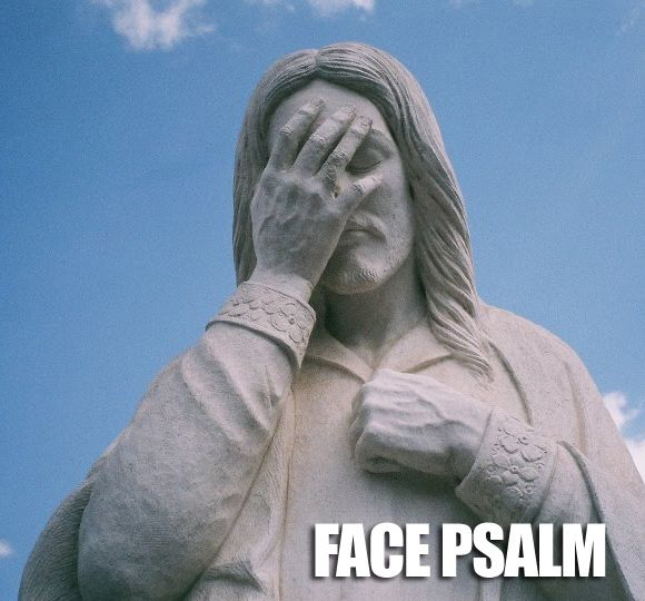 Face Psalm: Memes, God, Jesus Humor, Giggles, Too Funny, So Funny, Faces Psalms, Palms, Kid