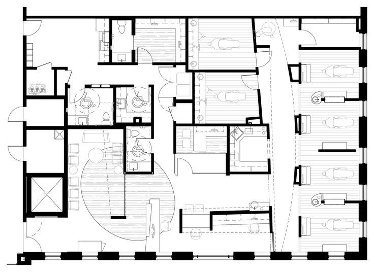 Dental Office Design Floor Plans Cheap Floor Plan Before