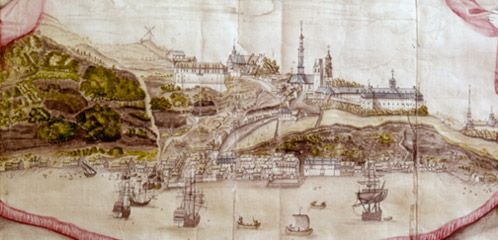 This is what Québec City looked like in 1688.