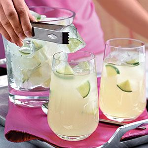 Lime Ice Cubes Recipe | MyRecipes.com