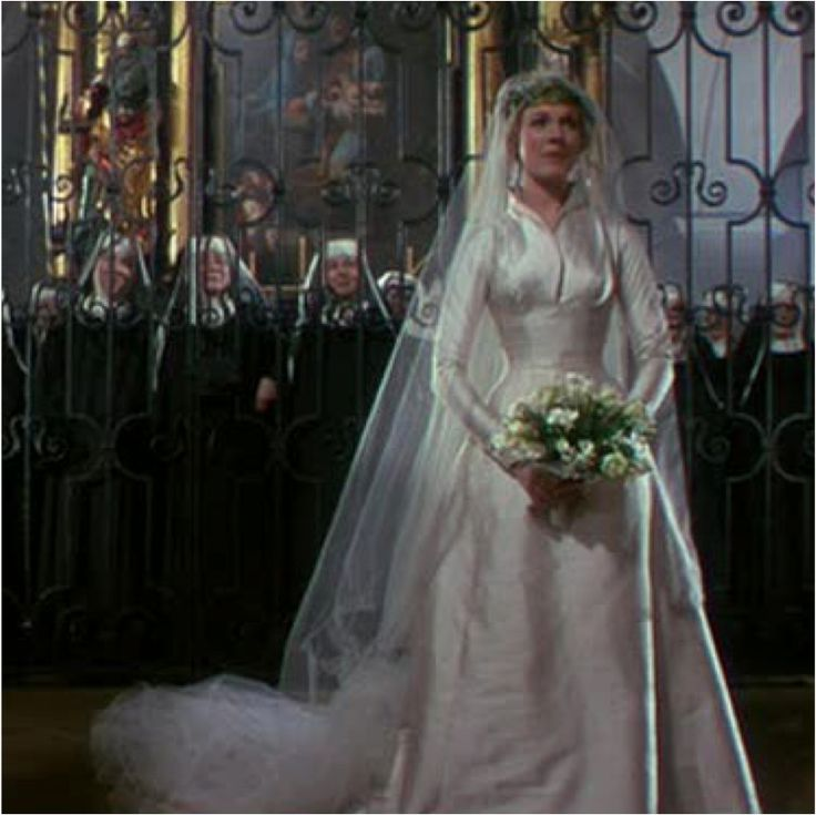 Sound of music wedding dress pictures