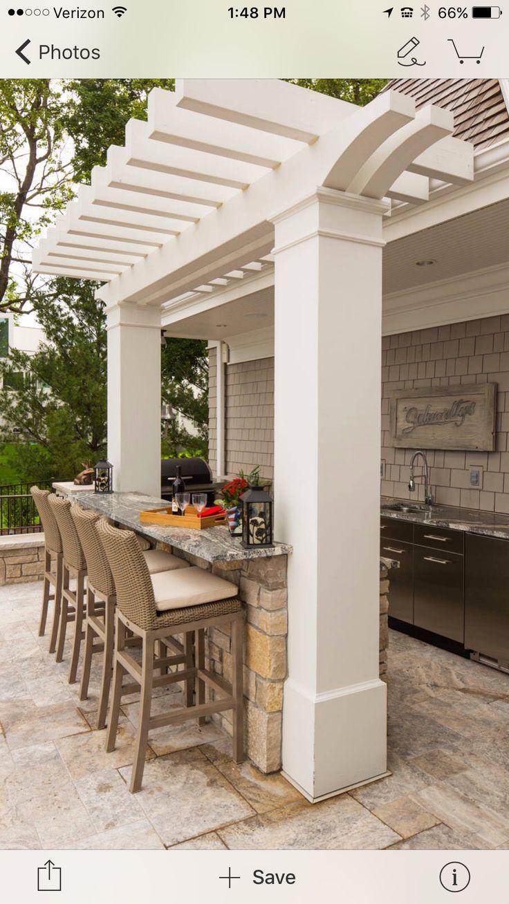 281 best Außenküche images on Pinterest | Backyard patio, Outdoor ...