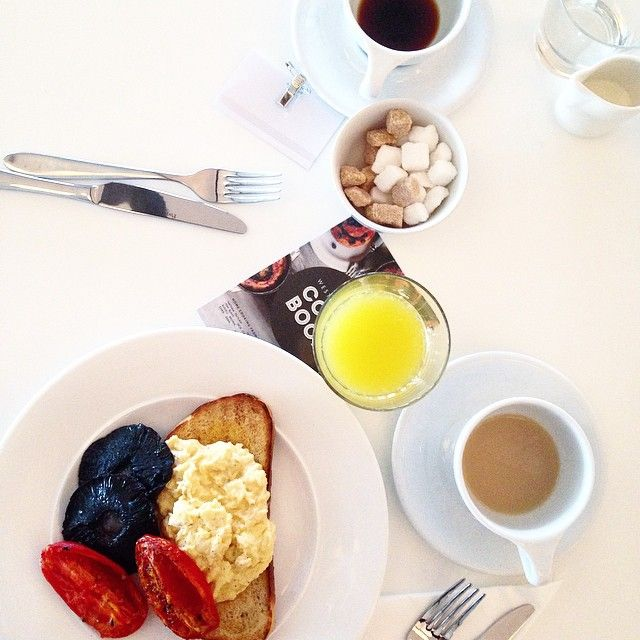 #Breakfast at Jamie Oliver's Fifteen Cornwall