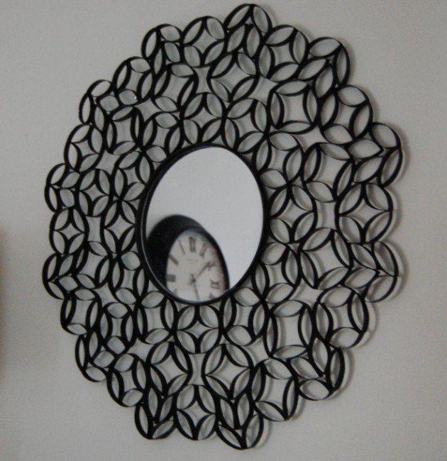 25 Creative DIY Toilet Paper Roll Wall Art