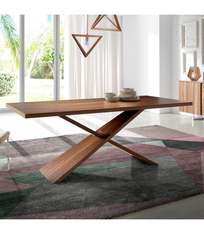 MESA COMEDOR DE DISEÑO ITALIANO BROOKLING | ID Furniture en ...