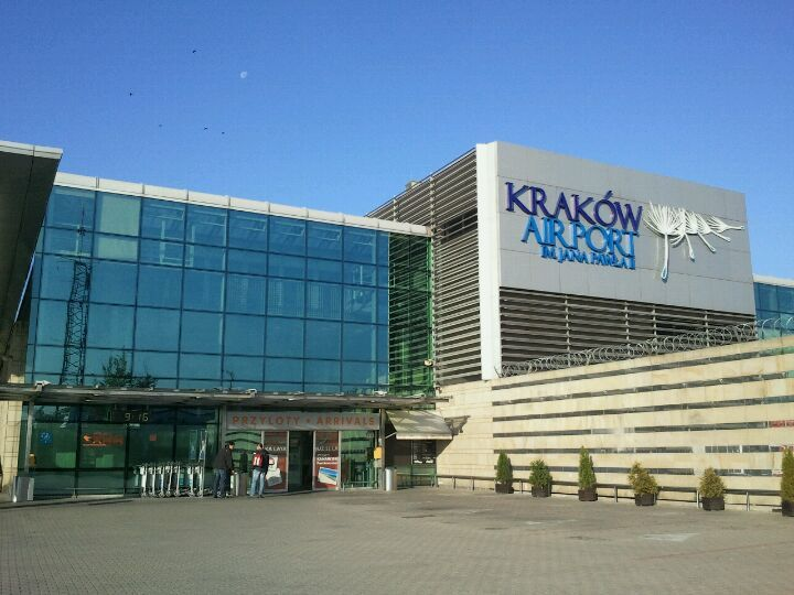 "Kraków International Airport ""John Paul II"" (KRK) w Kraków, Lesser Poland"