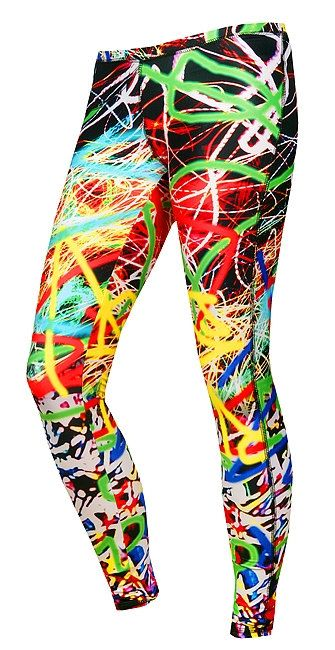 Leggings Feel Joy! LIGHTS  silver ions, breathable, thermoactive, flat seam