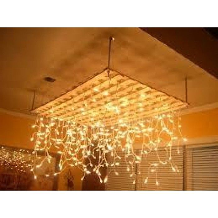 Icicle Solar Lights Warm White 24