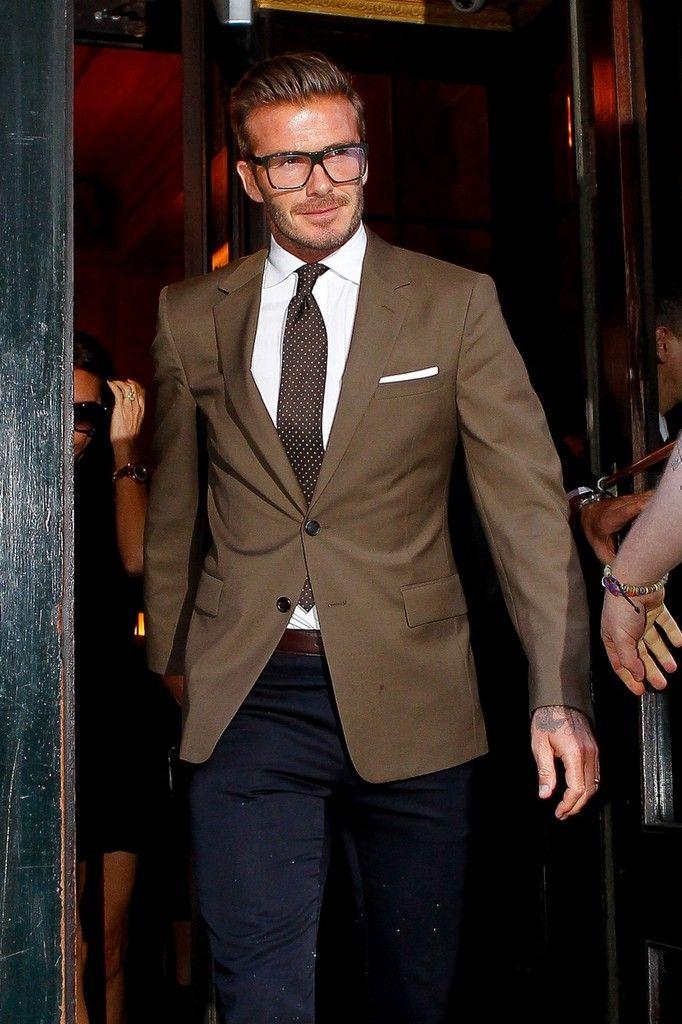 David Beckham Photos: Victoria and David Beckham Leave Balthazar