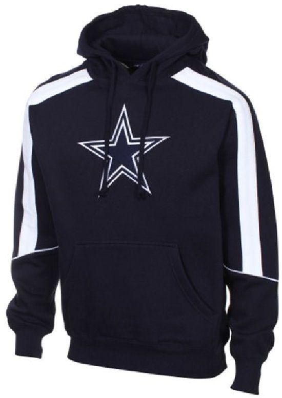 Dallas Cowboys Navy Mens Winner Hood Sweatshirt $64.95