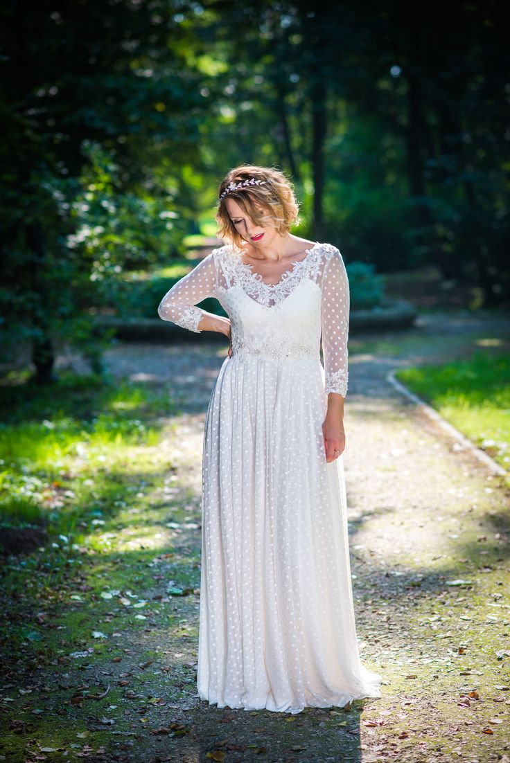 Ecru sukienka ślubna 2017 / ecru wedding dress 2017