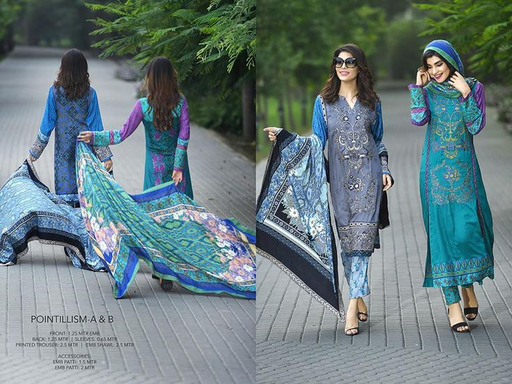 House of Ittehad Fall Winter Embroidered Shawls 2016 Vol-2