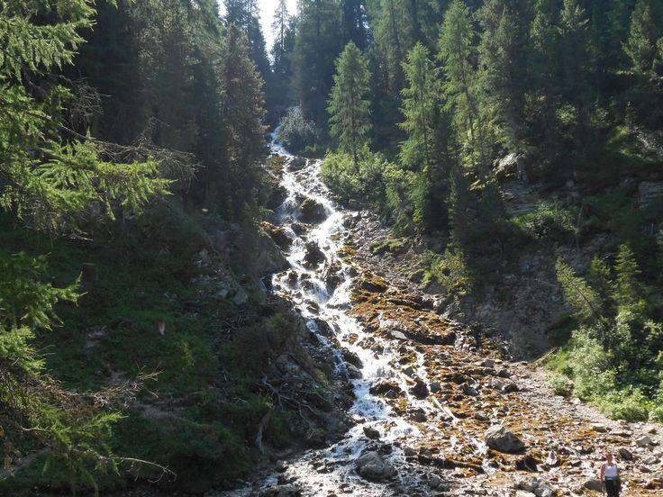 Le Cascate dello Jonta, in valle San Nicolò ai piedi della #Marmolada