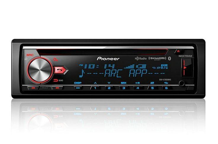 Pioneer DEH-X7800BHS 1-DIN Car Stereo In-Dash Bluetooth CD Receiver w/ HD Radio #Pioneer