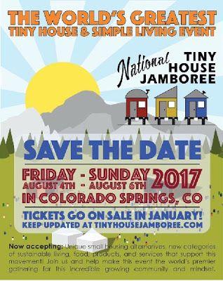 mytinyhousedirectory: National Tiny House Jamboree 2017