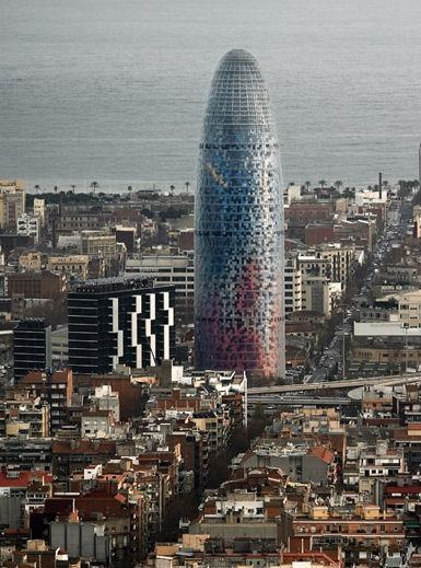 Jean Nouvel Agbar Tower, Barcelona