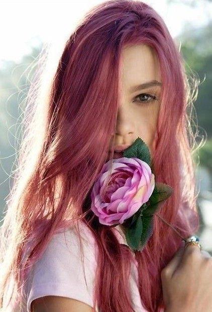 rose #hair