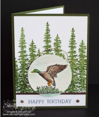 494 best stamping ideas masculine cards images on pinterest male a handmade masculine birthday card made with the stampin up the wilderness awaits and wonderland stamp sets is pretty and simple to make bookmarktalkfo Choice Image
