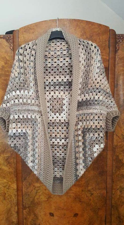 Crochet Cocoon Shrug Pattern                                                                                                                                                                                 More